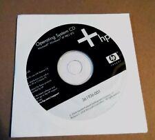 Microsoft Windows XP SP2 Professional Operating System CD HP Compaq software