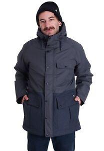 Dickies Hartford City Jacket Dark grey Coat Size Medium