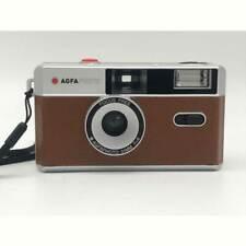 AgfaPhoto |analoge Kleinbildkamera 35 mm braun | mit Fixfocus Objektiv