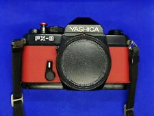 Stunning Custom boxed Yashica FX-3 35mm SLR film camera body with extras Working