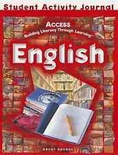 ACCESS English: Student Activities Journal Grades 5-12 by Dr. Elva Duran