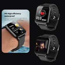 SMARTWATCH WATERPROOF  HEART RATE MONITOR BRACELET WRISTBAND FOR IOS ANDROID