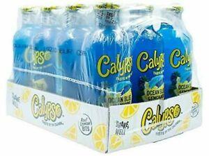 Calypso Ocean Blue 473ml x 12 Bottles USA IMPORTED
