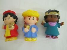New Fisher Price Little People 3 CHRISTMAS WISEMEN for NATIVITY Wiseman Gifts #1