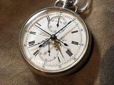 ✔ Antique Paul Buhre Russian Павелъ Буре split second pocket watch chronograph