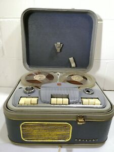 Philips AG 8108 Reel To Reel Tape Player Recorder Vintage #1915