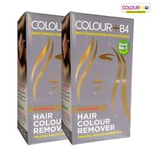 2 x Colour B4 Hair Dye Colour Remover For Darker Hair Colour Extra Strength