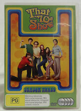DVD -THAT 70'S SHOW - COMPLETE SEASON 3 - 4 DISC SET- REGION 4 - GREAT CONDITION