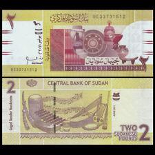 SUDN SUDAN 2 Pounds, 2011, P-71, UNC