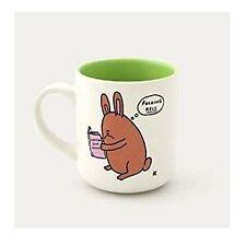 Rabbit Design Tazza in ceramica in scatola. COLLINA deprimenti. divertente. tazza di tè/caffè