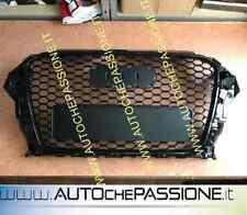 Griglia Calandra per AUDI A3 8V 2012>2016 RS 3 Look nero lucido black grill