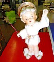 Ange boite nacre contenant dragées angelot cherubin bapteme mariage communion