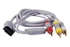 Hellfire Trading Composite HD AV TV Cable Lead Scart for Nintendo Wii