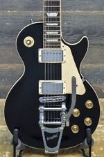 2011 Gibson Les Paul Traditional with Bigsby Black El. Guitar w/Case #115110460