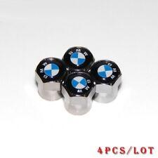 4 Bouchon De Valve BMW Logo Bleu/Blanc