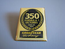 GOOD YEAR 350 FORMULA 1 VICTORIES 1997 FORMULA ONE RACING HAT PIN