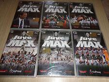 JUVE AL MAX 6 DVD OFFICIAL FC JUVENTUS SCUDETTO N°33 CAMPIONE D'ITALIA 2015