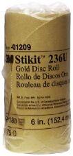 3M™ Stikit™ Gold Disc Roll, 01209, 6 in, P180A, 75 discs per roll