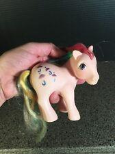 My Little Pony G1 Rainbow Parasol with glitter umbrella Hasbro 1983 Vintage
