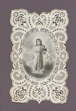 Image religieuse dentelle - Editeur : Saintin ; Paris     (C6984)