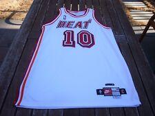 "1998-99 Nike Tim Hardaway Miami Heat Game Issued Pro Cut Jersey Sz. 48 + 4"""