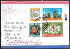Oman Muscat Cover to Germany 1987