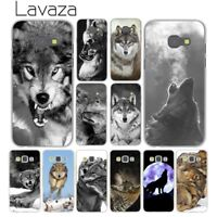 Cover Silicone TPU Phone Case for Samsung Galaxy A3 2016 A5 2017 2015 2018 wolf