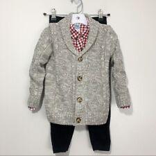 Little Lad 3 Piece Sweater & Corduroy Boy's Set