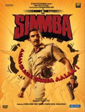 Simmba Hindi DVD - By Ranveer Singh, Ajay Devgn, Sara Ali Khan, (2019 Film)