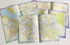 Vintage Map Pages. 10 Original Map Pages