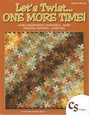 LET'S TWIST.ONE MORE TIME~BY MARSHA BERGREN QUILT BOOK /TWISTER RULERS~PINWHEELS