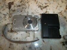 Sony Cyber-shot DSC-W50 6.0MP Silver Digital Camera w/ Wall Charger