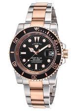 Legend Deep Blue  Silver Rose-Tone Watch LD-1001-SR-11