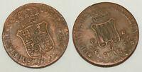 1 piece de 6 Cuar en Bronze 184?  - Catalogne ( 005 )