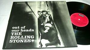 60er Schallplatte,  The Rolling Stones - Out of Our Heads - SLK 16682-P, TOP !!