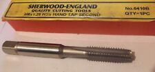 M8 X 1.25 Hss Hand Tap deuxième Sherwood ANGLETERRE no 0410B