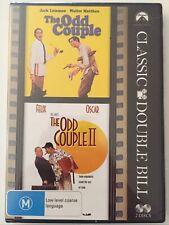 The Odd Couple 1 and 2 Region 4 DVD (2 Discs) Walter Matthau Comedy Movies