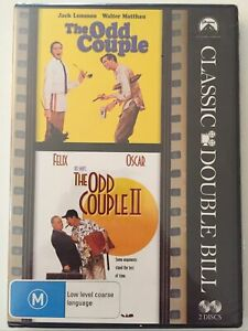 The Odd Couple I & II - DVD Classic Double Bill - R4 Jack Lemmon Walter Matthau