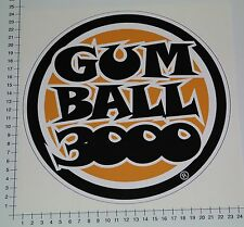 Gumball 3000 XXL Pegatina Sticker Race us Motorsport rythm tuning v8 big22