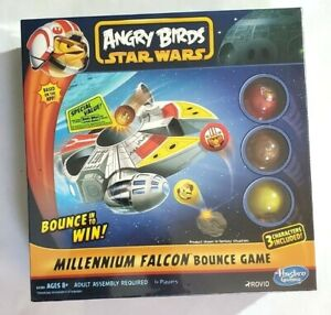 ANGRY BIRDS STAR WARS MILLENNIUM FALCON BOUNCE GAME Factory Sealed 2016