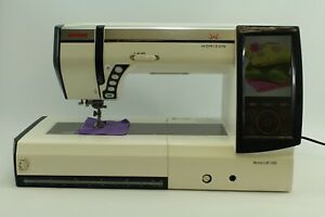 Janome Memory Craft 12000 Horizon Incl. Trolley IN Own Workshop Tested