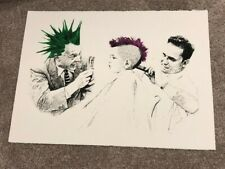 """Mr Brainwash     """"My first concert""""   Screen Print. Run: 100, signed and #d"""