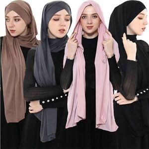 Single Cross Instant Jersey Scarf/Hijab/Shawl