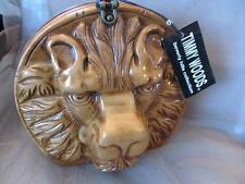 Timmy Woods of Beverly Hills Classic Lyon Acacia Wood Purse New NWT