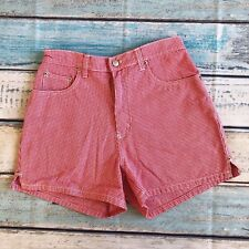 Vintage Billbass 8 P women's High Waisted Shorts Pink cotton VGUC