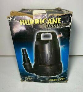 Alpine Hurricane Pump PAB2100 (2100 GPH / 8000 LPH) - New - Read Description