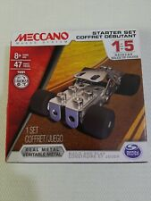 Meccano1of 5 Race Car Vehicle  Construction Game Toy Gift Model Building Set