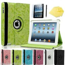 360° Apple iPad 4/3/2 Custodia Protettiva+ film Smart Pocket Cover Case Custodia