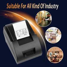USB Mini 58mm POS Thermal Dot Receipt Bill Printer Set Roll Paper POS-5890C RS