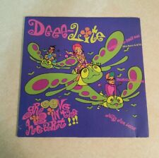 Deee Lite Groove in Heart Vinyl Record Single Remixes LP RP Rare Music Gift